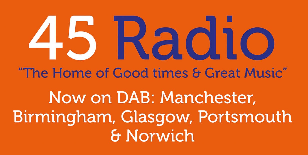 45 Radio - The home of good times and great music